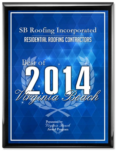 2014 Best of Virginia Beach Award